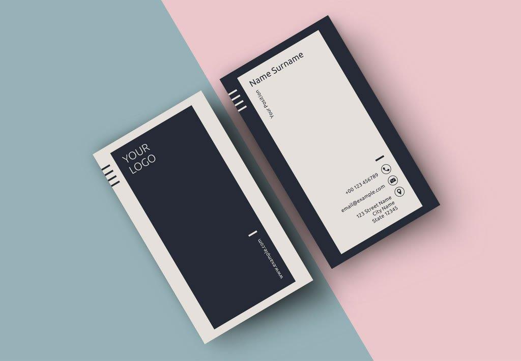 White ink on black card